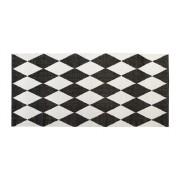 Harlekin 70x250cm svart