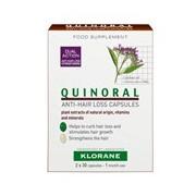 Quinoral suplemento antiqueda capilar 60cápsulas - Klorane
