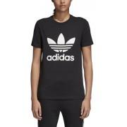 adidas Originals Trefoil - T-shirt fitness - donna - Black