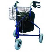 Járókeret , 3 kerékkel , fékezhető OD4259