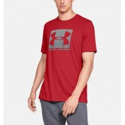 Under Armour Heren T-shirt UA Boxed Sportstyle met korte mouwen - Mens - Red - Grootte: Extra Large