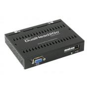 Matrox Graphics eXpansion Module DualHead2Go - Analog Edition - convertisseur vidéo - VGA - VGA