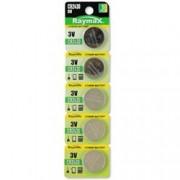 Raymax Batteries Batterie a bottone Litio CR2430 (set 5 pz)