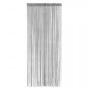 Deurgordijn Alessio - grijs - 200x90 cm (1 stuk) - Leen Bakker