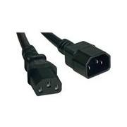 Tripp Lite 5ft Computer Power Cord Extension Cable C14 to C13 13A 16 AWG 5' - rallonge de câble d'alimentation - 1.52 cm