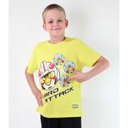 tričko chlapecké TV MANIA - Angry Birds / Star Wars - Lime - SWAB 326