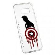 Husa de protectie Marvel Avengers Samsung Galaxy S8 rez. la uzura anti-alunecare Silicon 199