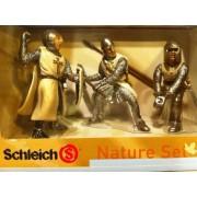Schleich Nature Set - 3 Knight Castle Set