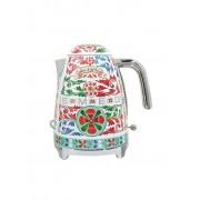 SMEG Wasserkocher 1,7l Dolce Gabbana KLF03DG (Rot/Dekor) bunt