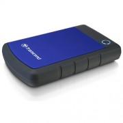"HDD External 2TB TRANSCEND, TS2TSJ25H3B, USB 3.0, 284g, 2.5"""