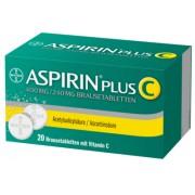Bayer ASPIRIN plus C Brausetabletten 20 St