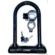 Cytec 188/258 Premium kerékpárzár, U-lakat