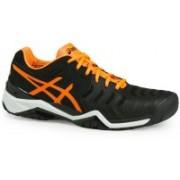 Asics GEL-RESOLUTION 7 Running Shoes For Men(Black)