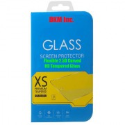 DKM Inc 25D Curved Edge HD 033mm Flexible Tempered Glass for Gionee Marathon M5 Lite