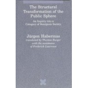 The Structural Transformation of the Public Sphere An Inquiry Into a Category of Bourgeois Society