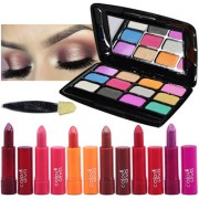 Color Diva 6Pcs Lipstick With Eyeshadow Pack of 7 GC554