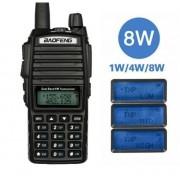 Statie Baofeng UV-82 8W Dual Band Transceiver 8W 128 canale , Radio FM