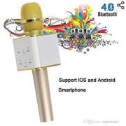 Neil creation Karaoke Mic Wireless Portable Handheld Singing Machine Condenser Microphones Mic and Bluetooth Speaker Co