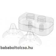 BabyOno szilikon mellbimbóvédõ dobozkával több méret