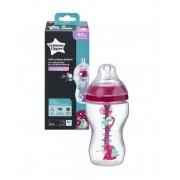 Tommee Tippee C2N ANTI-COLIC Girl 3m+ 340 ml kojenecká láhev 1 ks
