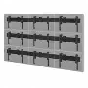 MM-PFB-9x46Wall Videowall Wandhalterung für 3x3 46 Zoll Monitore