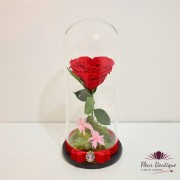 """Trandafir criogenat """"Inima"""""""