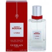 Guerlain Habit Rouge L'Eau eau de toilette para hombre 50 ml