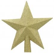 Stea Aurie Pentru Brad (diametru 20 cm)