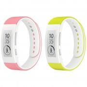 Sony SmartBand Talk Wrist Strap SWR310 - S - Pink %26 Green