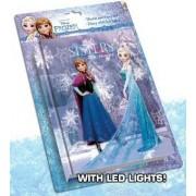 Disney Jégvarázs LED fénnyel világító napló