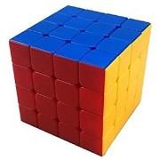 Unique Cartz 4 X 4 X 4 Sticker less Magic Rubik Cube Speed Cube