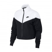 Nike Casaco com fecho Sportswear AT3908-010Preto/Branco- L