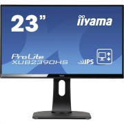 LED monitor 58.4 cm (23 cola) Iiyama XUB2390HS-B1 KEU: A 1920 x 1080 piknjica 16:9 5 ms DVI, HDMI™, VGA AH-IPS LED