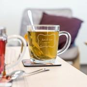 Personalised Engraved teacup