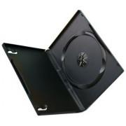 DVD CASE SINGLE BLACK 14MM, Retail Box, No