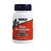 Now Zinc Picolinate 50mg 60 Cápsulas Now