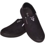 Sukun Black Casual Shoes For Men