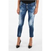 Dsquared2 Jeans JENNIFER CROPPED in Denim Stretch taglia 46