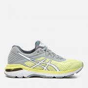 Asics Running Women's GT-2000 6 Trainers - Limelight/White/Mid Grey - UK 5 - Yellow
