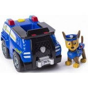 Figurina Chase si masina de politie Patrula Catelusilor