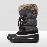 WINTER-GRIP Lace up snowboots grijs/bruin/zwart dames
