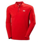 Helly Hansen Mens Crew Classic Long Sleeve Polo Long Sleeve Shirts Red XXL