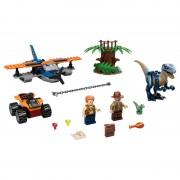 Velociraptor: misiunea de salvare cu biplanul LEGO Jurassic World