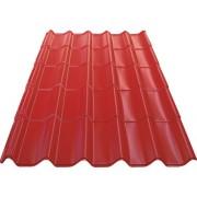 Tigla metalica ecoline Bravo 2490x1170x0,4 mm rosie