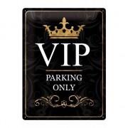 Merkloos Leuk decoratie bord met de tekst VIP parking only