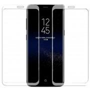 Louiwill Protector De Pantalla Galaxy S8, Protector De Pantalla De Cristal Templado De Cobertura De Pantalla Completa Para Samsung Galaxy S8 Con Burbuja Anti-huella Digital Gratis Y Anti-arañazos, Transparencia