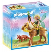 Playmobil Forest Fairy Diana with Horse, Multi Color