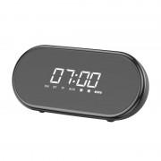 Boxa Portabila Bluetooth Baseus Encok E09 Stylish Wireless with Alarm Clock/LED - Black