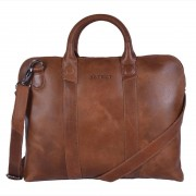 DSTRCT Fletcher Street Business Bag Cognac 13 inch