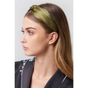 NA-KD Accessories Satin Hairband - Hair Accessories - Green